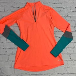 BCG 1/4 Zip Running Top Long Sleeve Size XS